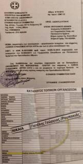 [Υπουργείο Οικονομικών Σώμα Δίωξης Οικονομικού Εγκλήματος ΣΔΟΕ] - Παραγγελία για Οικονομικός Φορολογικός έλεγχος στο πολιτικό κόμμα Χρυσή Αυγή Κατάλογος ΤΟ Νίκαια Πατέλης + Ρουπακιάς [08 Οκτωβρίου 2014]