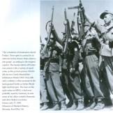 1944-07-27-Σχης Πούλος γερμανοντυμένοι ένοπλοι με ελληνικό εθνόσημο επιδεικνύουν τα όπλα τους [Από Modern History Museum in Slovenia] - scansione0003d