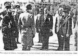 1944-10-12 - Σύνταγμα Αγνωστος Στρατιώτης - Αποχώρηση Γερμανών - Δήμαρχος Γεωργάτος + Γερμανικό απόσπασμα για κατάθεση στεφάνου - 10728788_10152789306665429_617520137_n