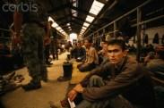 14 Aug 1992, Manjaca, Bosnia and Herzegovina --- Manjaca detention camp --- Image by © Antoine Gyori/Sygma/Corbis