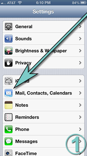 iPhone Settings for Gmail | XYZ Servers Web Hosting