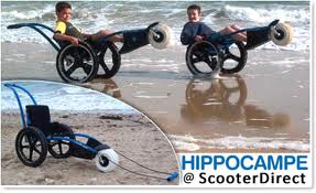 Xzavier Davis-Bilbo was paralyzed at age five and needs to be a boy in his onw All terrain wheelchair