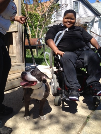 Shi Shi the missing help dog for Xzavier Davis-Bilbo was returned after two weeks of searching assisted by local Milwaukee news stations.