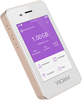 Introducing YRoam's Portable WiFi device