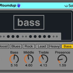 Live9のエフェクトを遊ぶ。16『Bass Roundup』