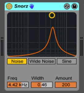 Live9のエフェクトを遊ぶ。14『Snorz』