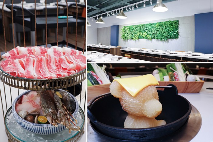 新竹火鍋推薦同樂食鍋|誤以為下午茶咖啡廳的火鍋店,這裡也有小熊牛奶鍋!加價128元就能吃到海鮮總匯