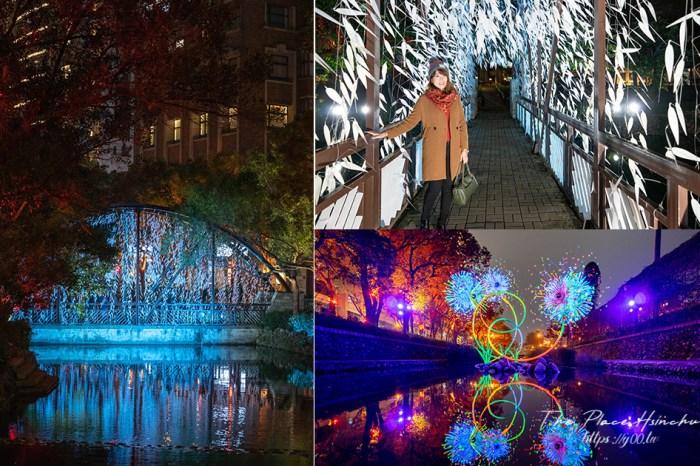 2021台灣燈會護城河燈區搶先看!明晚東門城聖誕音樂會欣賞浪漫螢火蟲燈、煙火花