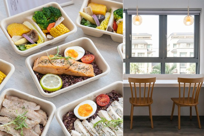 上班族外送午餐吃這個!新竹結合小超市概念的健康餐盒外帶便當店,內用空間美得像咖啡廳