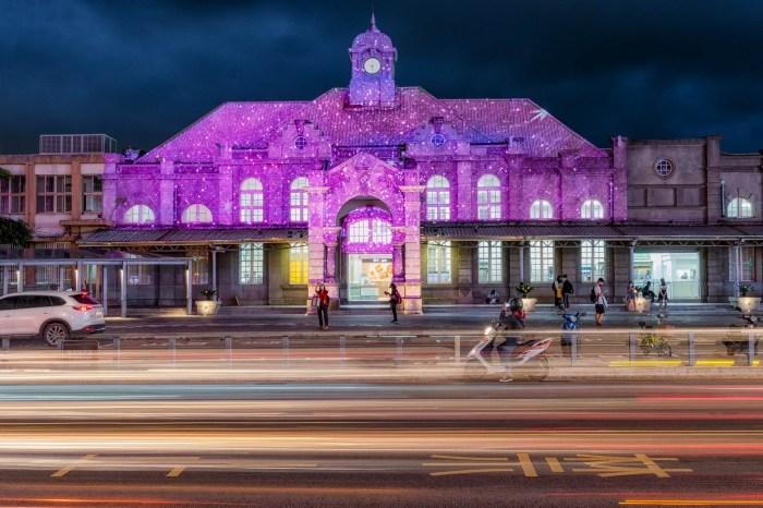 2021新竹光臨藝術節壓軸登場!全台規模最大的城市光雕秀,燈區拍照亮點先筆記起來