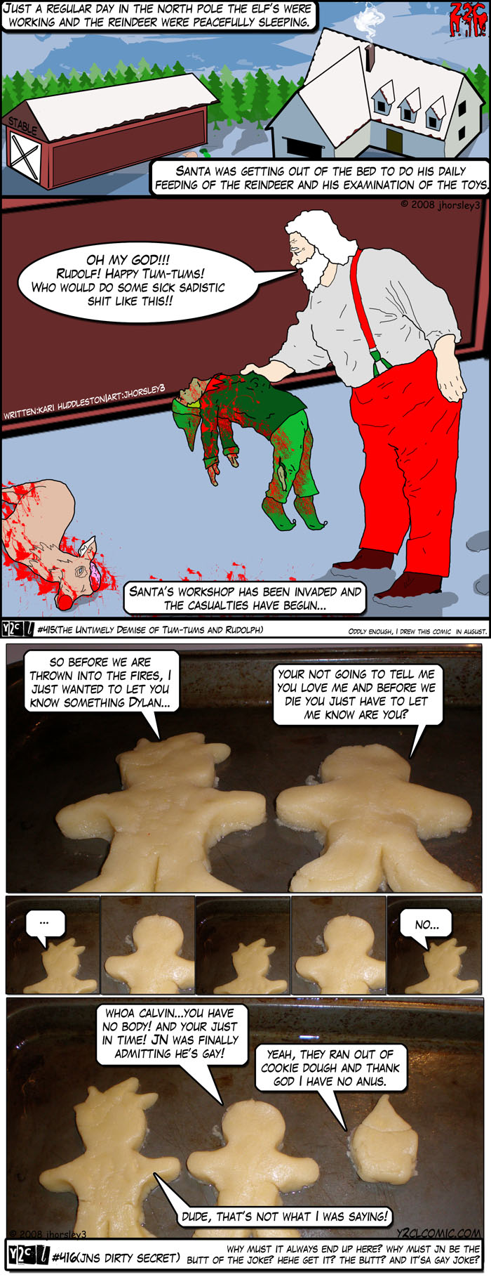 The Untimely Demise Of Tum Tums And Rudolph