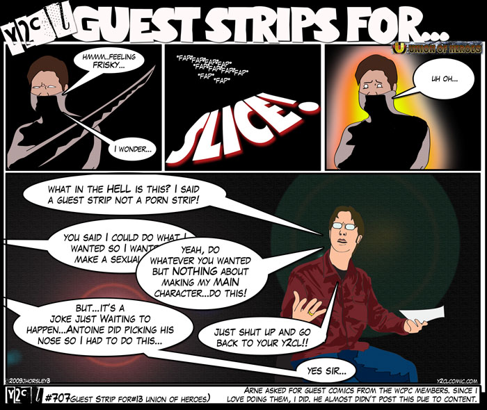 Guest Strip For #13 – Union Of Heroes