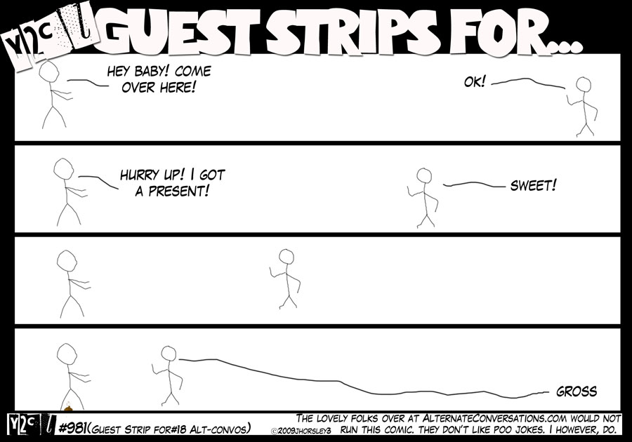 Guest Strip For #18 – Alt Convo