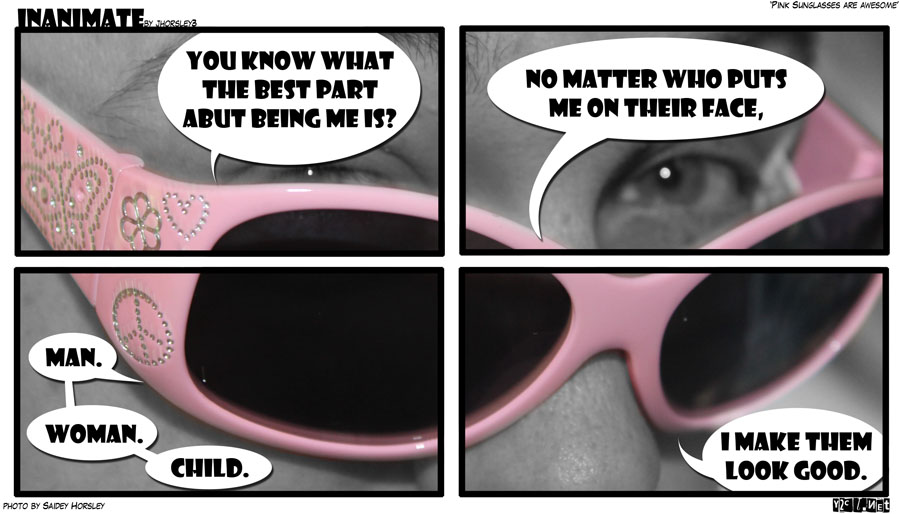 Pink Sunglasses are Awesome!