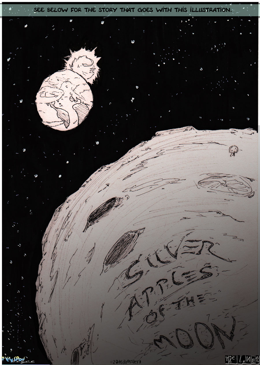 Cover – Silver Apples of the Moon
