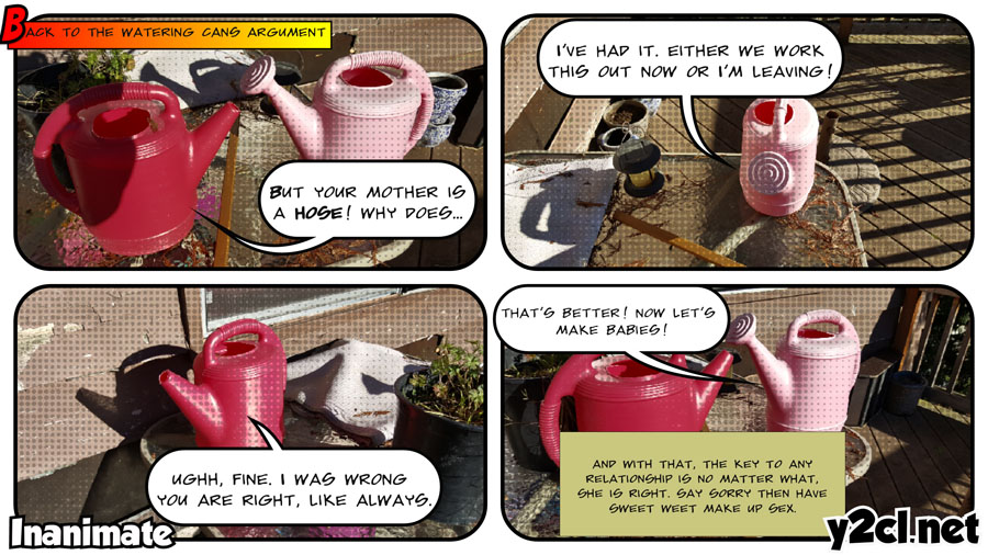 Watering Cans Make Up