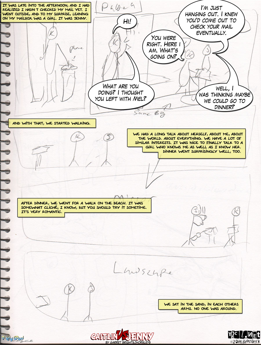 Caitlin Vs Jenny Page 9 – The Date