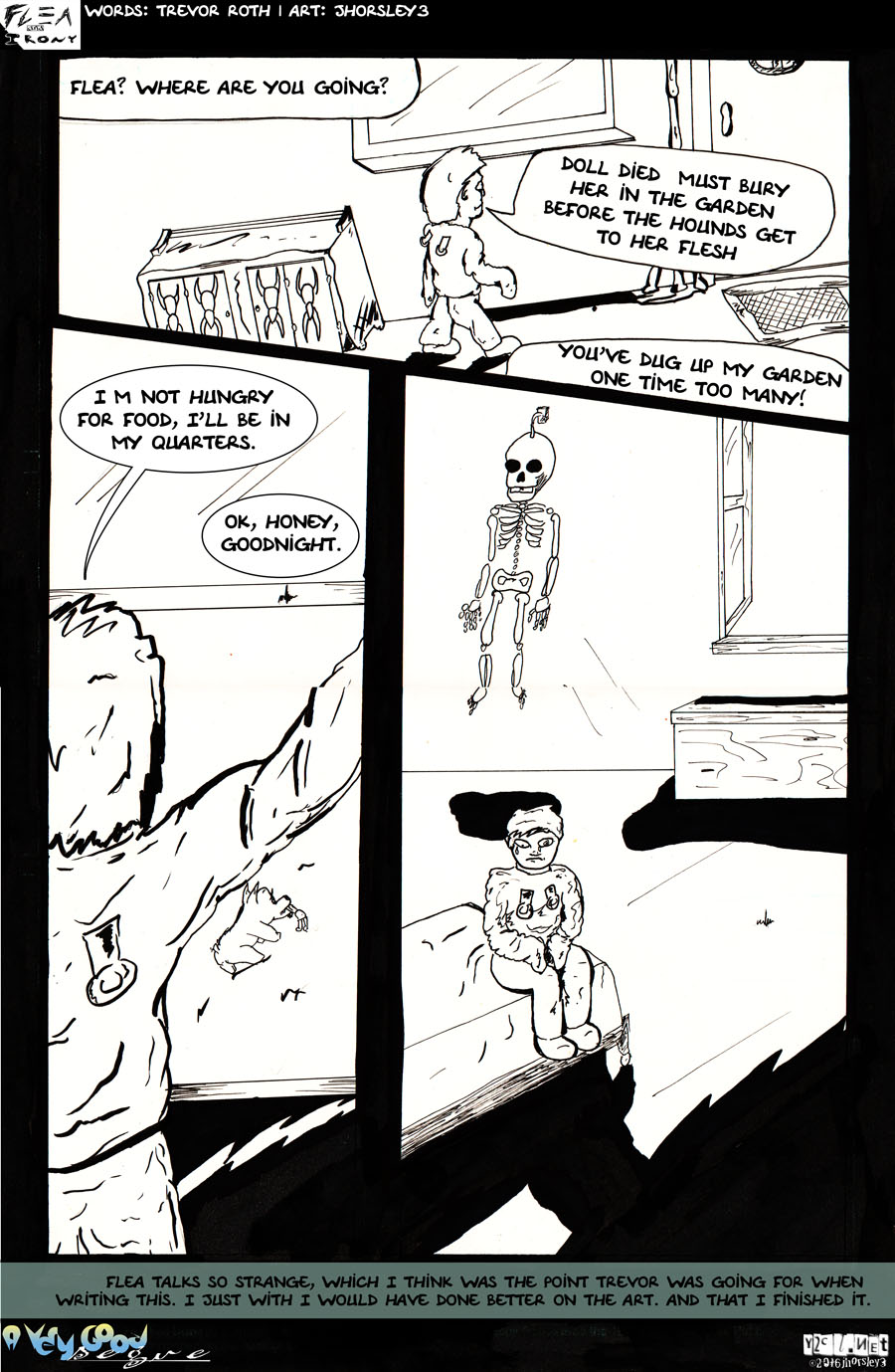Flea and Irony page 3