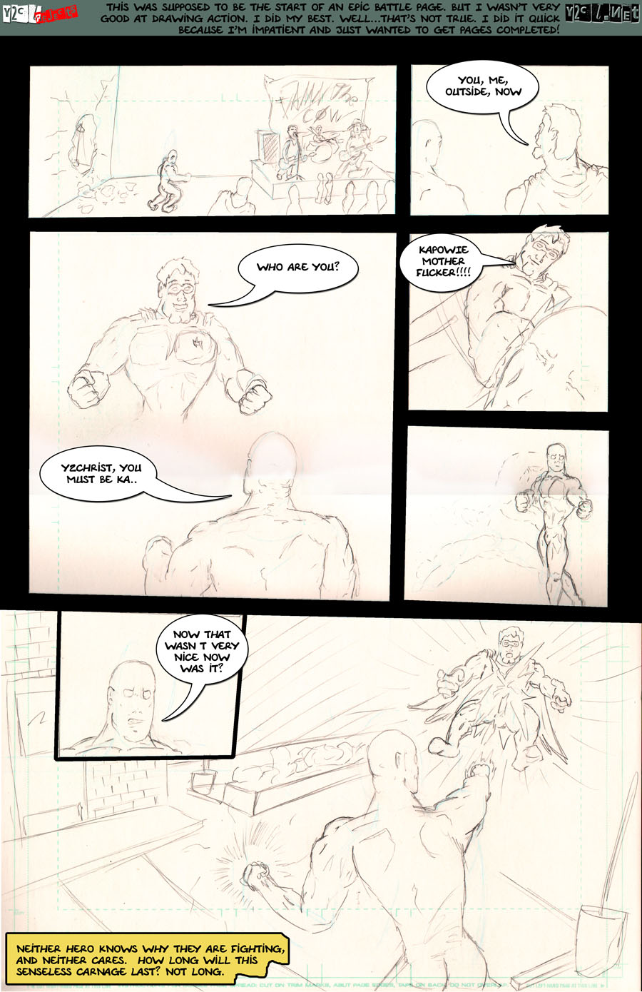 y2chrst ComX Page 2 – The battle of epic misproportions