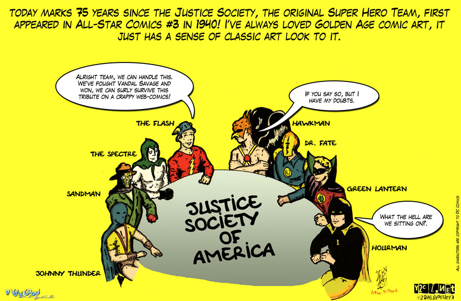 75 Years of Justice Society