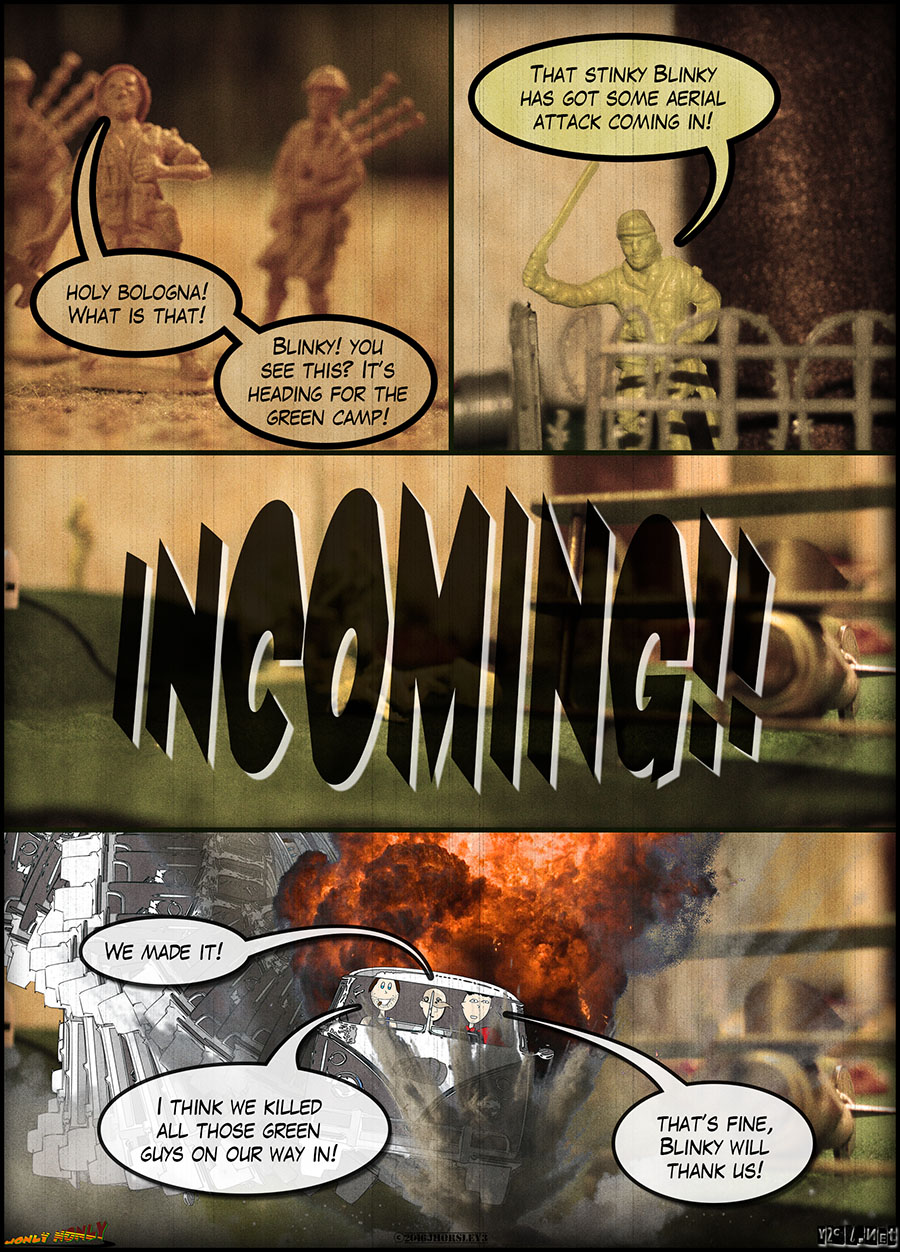24 Hour Comics Day 2016 – The Search for Jeffers: Incoming!!