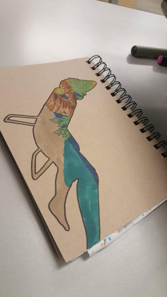 Blue leg!