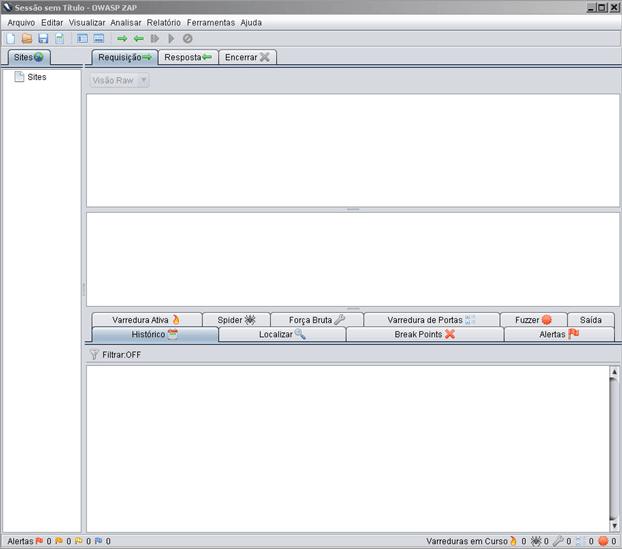 ZAP - Zed Attack Proxy (1/4)