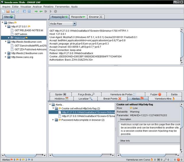 ZAP - Zed Attack Proxy (4/4)