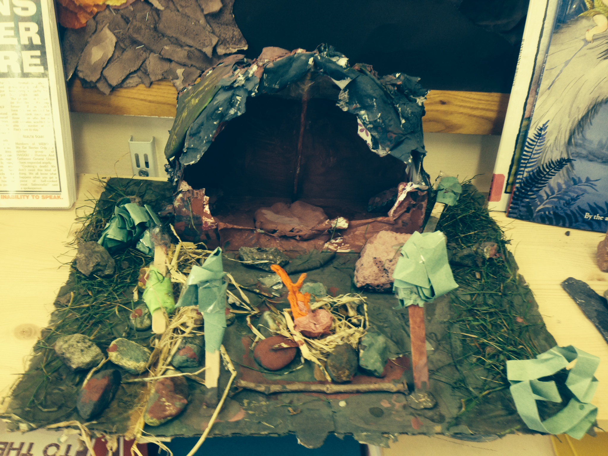 Stone Age models | Year 3 @ The Deans Primary on Granite Models  id=28194