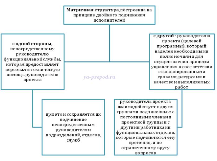 Матричная структура Лекция 7 часть 5 Характеристика матричной структуры