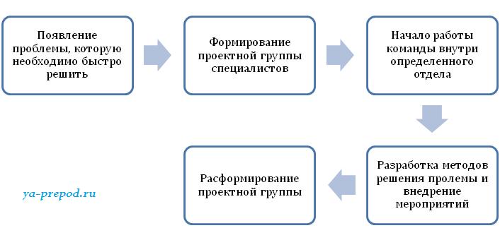 Матричная структура Лекция 7 часть 5 Цикл проектной группы