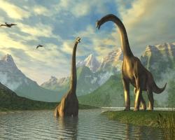 Почему динозавры были такими большими?