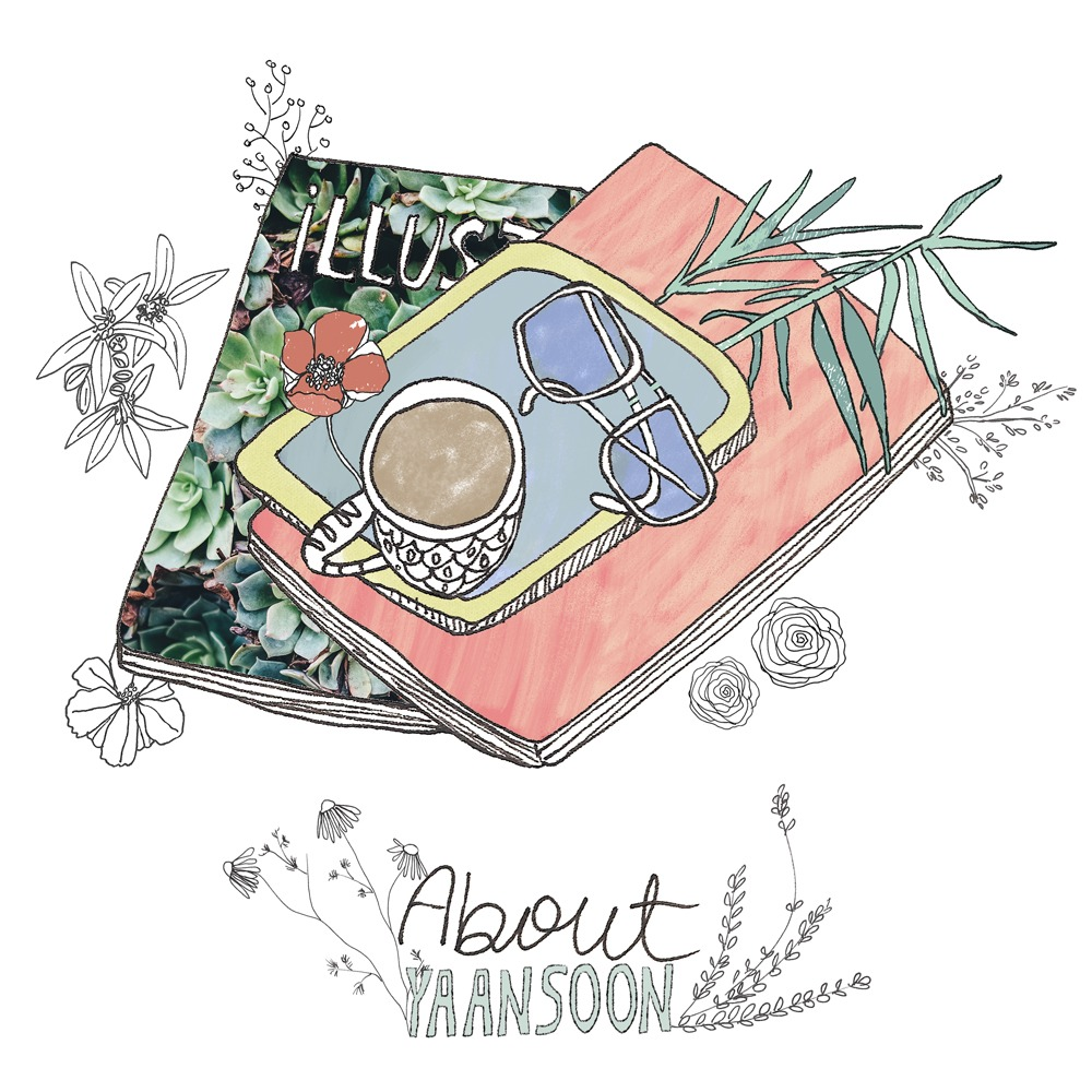 About Yaansoon.com, a Food Illustration and Travel Illustration Blog | By illustrator and artist Yaansoon