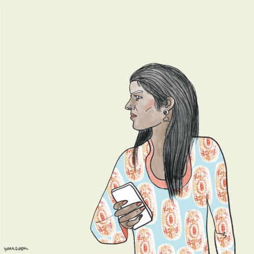 Women Empowerment Illustration & GIF: Commissioned by UK's DIFD Inclusive for Interview with India's Safecity | Yaansoon Illustration Portfolio | People Illustration, Women Illustration, End Violence Against Women