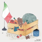 Strategic Import Conceptual Illustration: Trade Relations Artwork Commissioned by The Italian Trade Agency (ITA) – Agenzia ICE | Yaansoon Illustration's Portfolio | Illustration Commission | Italian trade, Italia
