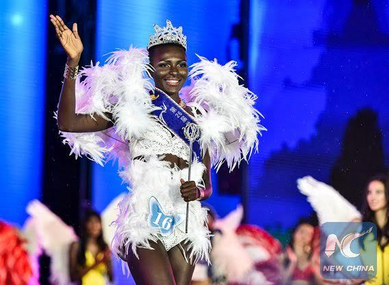 Ivorian Model Awa Sanoko Wins Miss Model of The World