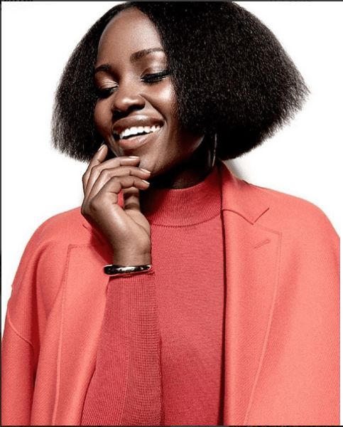 Lupita Nyong'o 'Rocks' New Hairstyle For Rhapsody Magazine