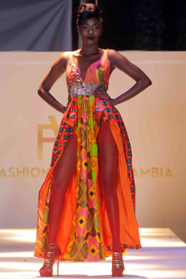 Stunning African Pieces From Gambia Fashion Weekend 2015