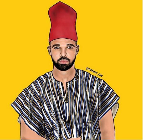 Drake-as-Aubrey-Drake-Abdul-Salam-Graham-denny Owuse