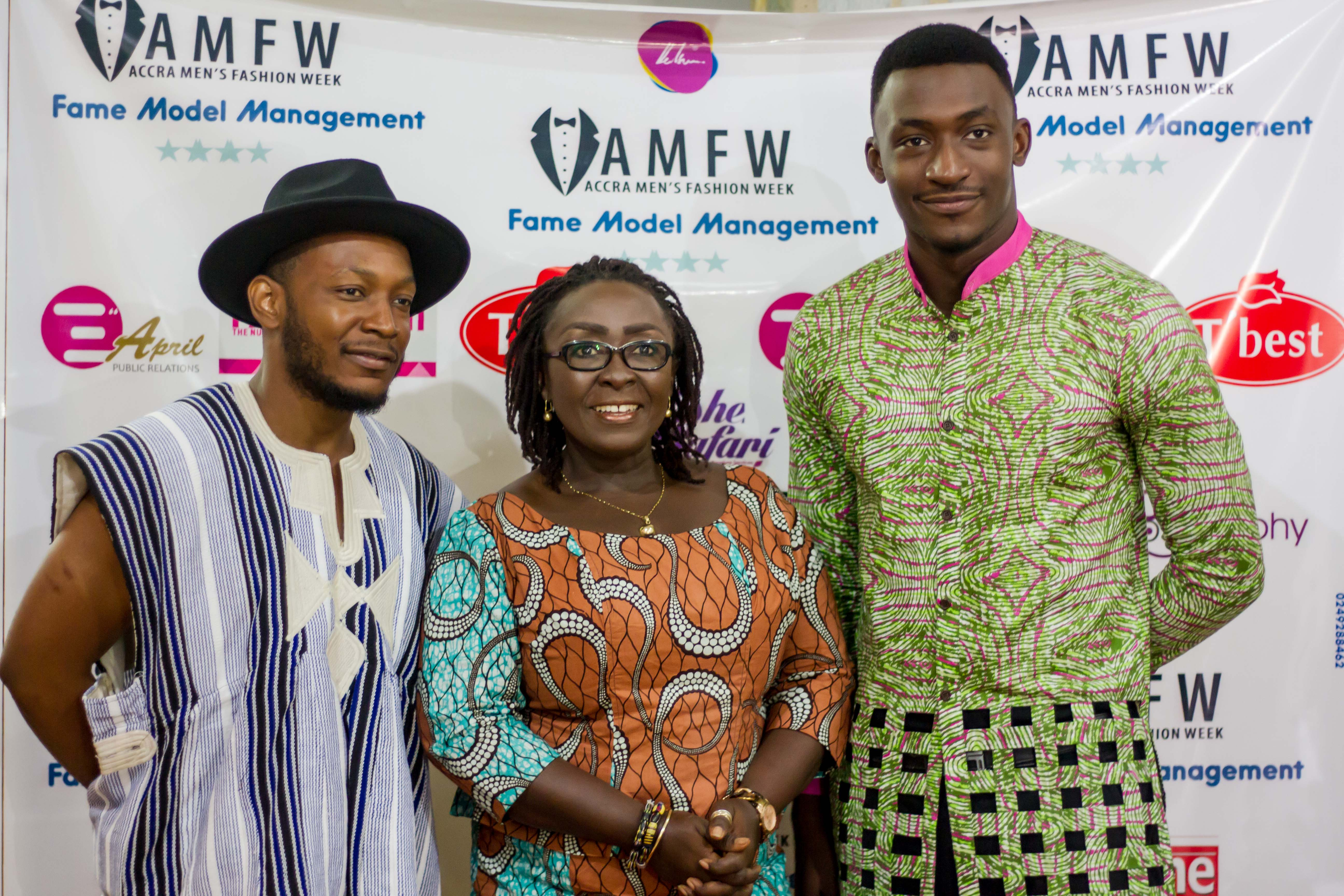 Accra Men's Fashion Launched. John Dumelo & More Named As Brand Ambassadors