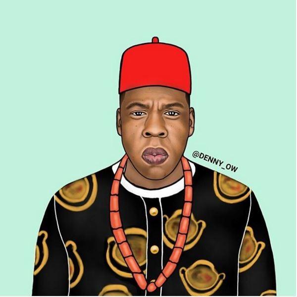 Jay-Z-as-Chief-Shawn-Ugonna-Jay-Z-Carter-denny Owusu
