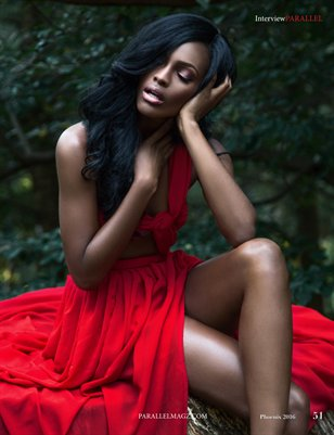 Ghana's Mame Adjei Is Flawless On The Cover Of Parallel Magazine