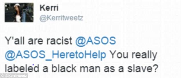 asos twitter slave