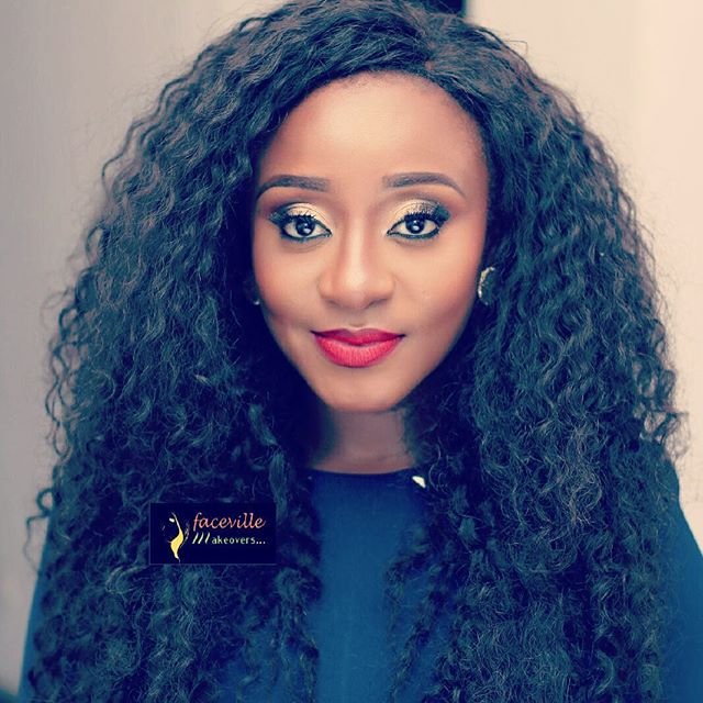 Makeup Inspiration: The Beautiful Ini Edo Glammed Up In Two Different Looks
