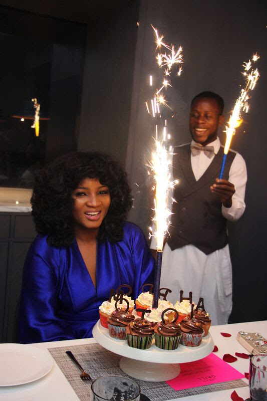 Joselyn Dumas, Becca & More View Photos Of Omotola's Birthday Party In Ghana