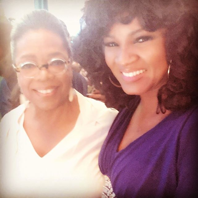 Nollywood Meets Hollywood: See Omotola Ekeinde With Oprah & Other Celebs!