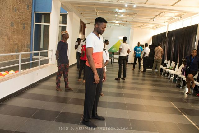 Ozzy Agu teaching at the Actors'worksho[p (1)