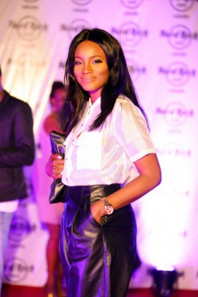 Photos: Banky W, Seyi Shay & More At The Hard Rock Café Grand Opening Party In Lagos