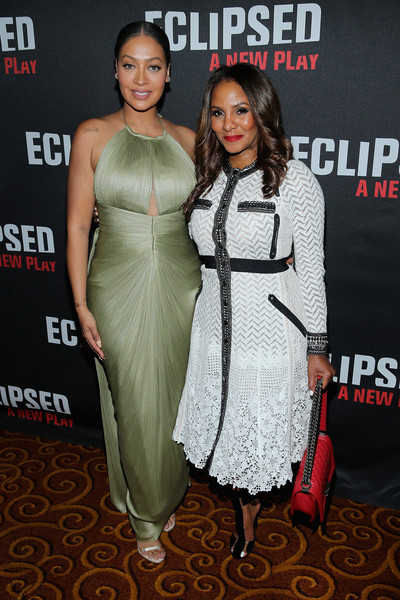 Eclipsed+Broadway+Opening+Night+After+Party+La La Anthony and Marvet Britto