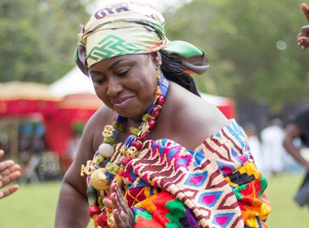 Gifty Anti Shows Off Her Traditional Dance Moves